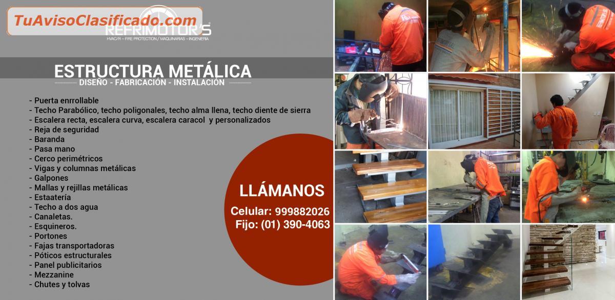 Servicio De Fabricación Techos Metálicos Soldadura