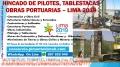 Hincados de Pilotes, Perforaciones, Tablestacas de Concreto Armado, Obras Marítimas Perú