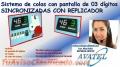 ORDENADORES DE COLAS CON SINCRONIZADO Y REPLICADOR