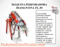 MAQUINA PERFORADORA DIAMANTINA PACKSACK FL-50