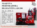 MAQUINA PERFORADORA DIAMANTINA AD-200