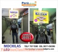MOCHILAS CON LUCES LED PUBLICITARIAS CORPORATIVAS