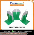 Ruleta de mesa plegable