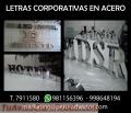 LETRAS Y LOGOS CORPORATIVOS ACERO