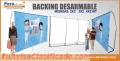 Backings Corporativos Desarmables
