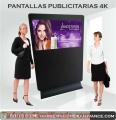 """Pantallas  publicitarias de 50"""" en 4K"""