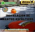 """INSTALACION DE MANTO ASFALTICO CON ESPESOR DE 3"""" y 4"""", CALIDAD BRIMAX PERU SAC."""