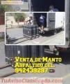 MANTO ASFALTICOS, GRAVILLADO, ARENADO, LISO Y ALUMINIZADO, ENVIOS A TODO EL PERU.