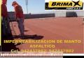 VENTA DE MANTO ASFALTICO, LISO, GRAVILLADO, ARENADO. TELF. 01-7820233.