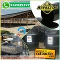 VENTA DE EMULSION ASFALTICA MODIFICADA ROTURA RAPIDA. TELF. 01-7820233.