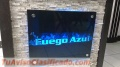 PLACAS DE VIDRIO DECORATIVAS  983447131 Y LETREROS LUMINOSOS