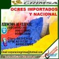 OCRE NACIONAL E IMPORTADO  PARA PULIR EN VENTA EN CHICLAYO