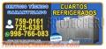 SERVICIO PROFESIONAL 7590161 // CAMARAS DE CONSERVACION** HUARAL