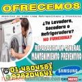 Técnicos a Domicilio> Expertos En Lavadoras Samsung>> En San Isidro -4804581