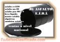 Venta de productos asfalticos
