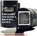 Emulsion asfaltica envasados en cilindro de 55 galones