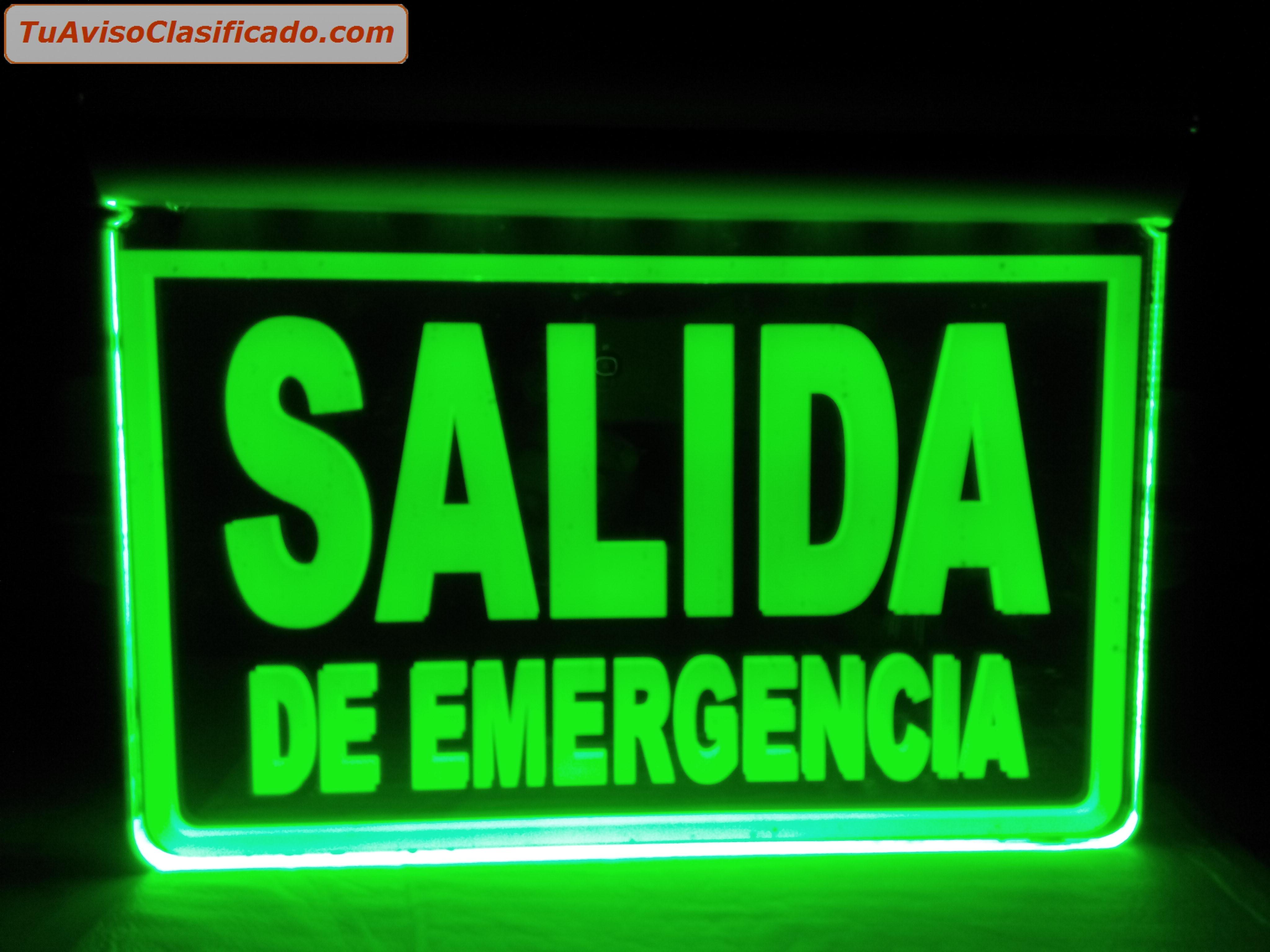 Remato se ales iluminadas y luces de emergencia - Precio luces de emergencia ...