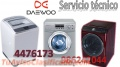 Servicio técnico de lavadoras y secadoras daewoo 4476173