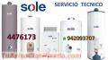 Servicio técnico de terma sole 4476173
