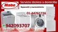 Servicio técnico lavadoras y secadoras  mabe 4476173
