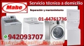 SERVICIO TÉCNICO LAVADORAS SECADORAS LAVASECAS CENTROS DE LAVADO MABE 4476173