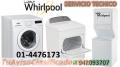 PROFESIONALES EN SECAORAS LAVADORAS WHIRLPOOL 014476173