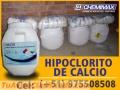 VENTA DE HIPOCLORITO DE CALCIO DE LA MEJOR CALIDAD - CHEMIMAX