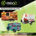 Instalaciones en Vinil para Vans, Remolques de comida y màs