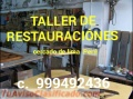 Reparación de muebles clásicos y COLONIAL LIMA PERÚ SUDAMERICA