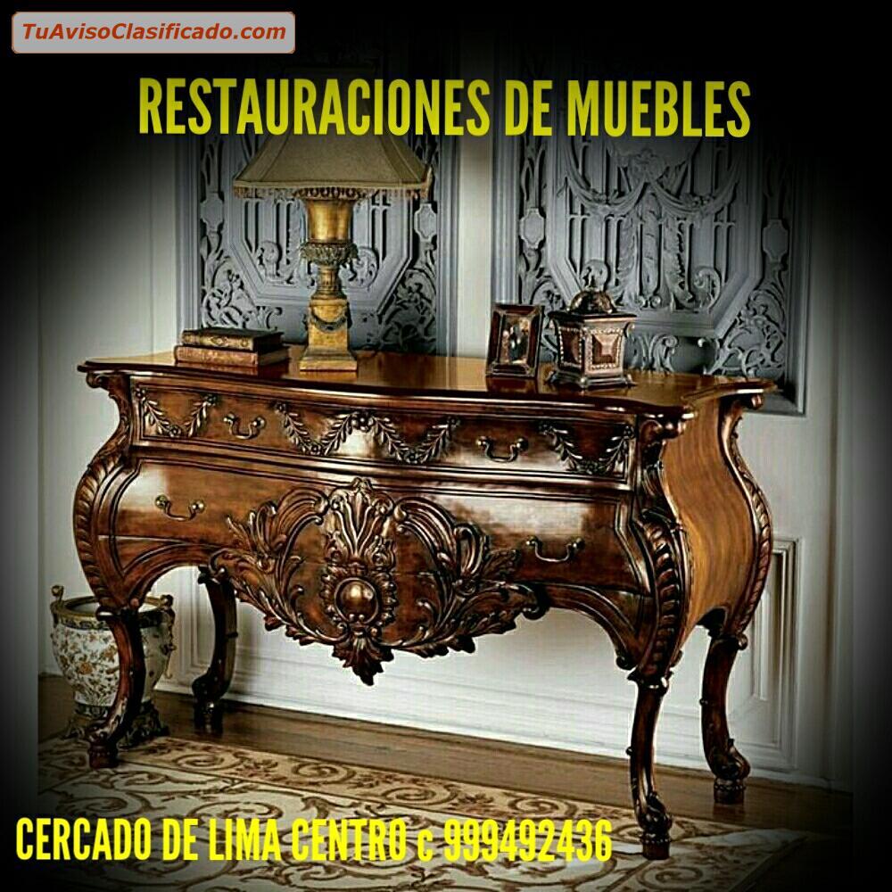 Arte y antig edades en - Reparacion muebles ...