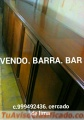 Vendo Barra bar estilo ingles clasico en cedro Lima Perú