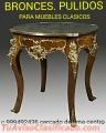 Bronce pulimos y Muebles clasicos Lima Perú