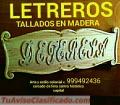 LETREROS TALLADOS EN MADERA PUBLICITARIOS PARA NEGOCIÓS