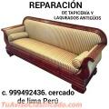 RESTAURADOR DE MUEBLES ANTIGUOS CLASICOS LIMA PERÚ
