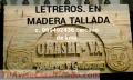 Letreros TALLADOS a mano PUBLICITARIOS LIMA PERÚ