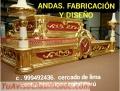 ANDÁS PROSESIONES fabricacion Exclusivas clasicos colonial lima Perú