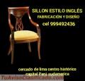 Sillones estilo ingles fabricacion Diseño y reparacion Lima Perú sudamerica