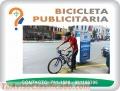 Bicicleta publicitaria.
