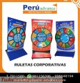 RULETAS PUBLICITARIAS CORPORATIVAS CON LED