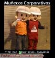 Confeccion de muñecos publicitarios