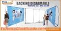 Backings Corporativos Desarmables