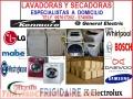 SERVICIO TECNICO PARA LAVADORAS, SECADORAS/FRIGIDAIRE, WHIRPOOL, SAMSUNG, OTROS/997617202