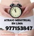 Atraso Menstrual En Los Olivos Clinica 977153847