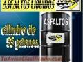 ADITIVOS IVSA, CALIDAD Y GARANTIA SIEMPRE. Asfalto MC-70 -Emulsión Asfáltica de Lenta y Rá