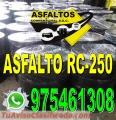 VENTA ASFALTO LIQUIDO RC-250