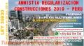 Amnistía Declaratoria de Fábrica Regularización de Construcciones 2019