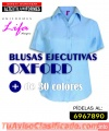 Camisa y blusa en tela oxford, variedad de colores