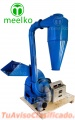 Combo Extruder, MEELKO, (Extrusor,Molino,tornillo mezclador,empacador)