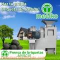 Prensa de Briquetas MEELKO Modelo  MKBC10