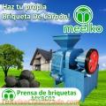 Prensa de briquetas, MEELKO, Modelo: MKBC02